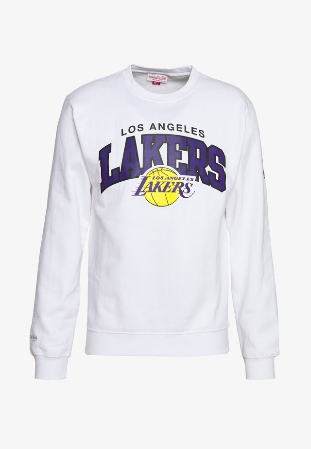 NBA ARCH LOGO CREW L.A. LAKERS - Article de supporter - white
