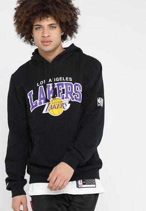 NBA ARCH LOGO HOODY L.A. LAKERS - Klubové oblečení - black