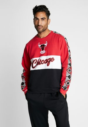 NBA CHICAGO BULLS LEADING SCORER CREW - Artykuły klubowe - red/black