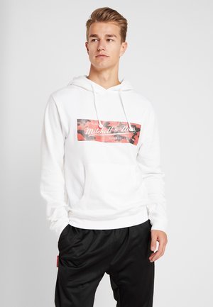 WOODLAND CAMO HOODY - Huppari - white/red
