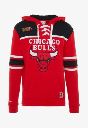 NBA CHICAGO BULLS HOCKEY HOODY - Fanartikel - red/black