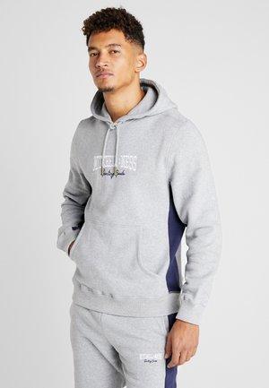 PANELED HOODIE - Huppari - grey