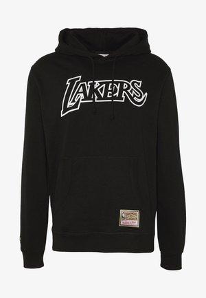 NBA TEAM LOGO HOODY LA LAKERS - Fanartikel - white/black