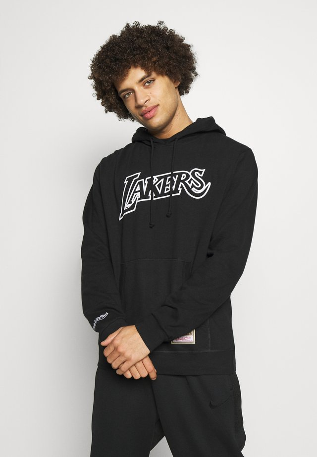 NBA TEAM LOGO HOODY LA LAKERS - Pelipaita - white/black