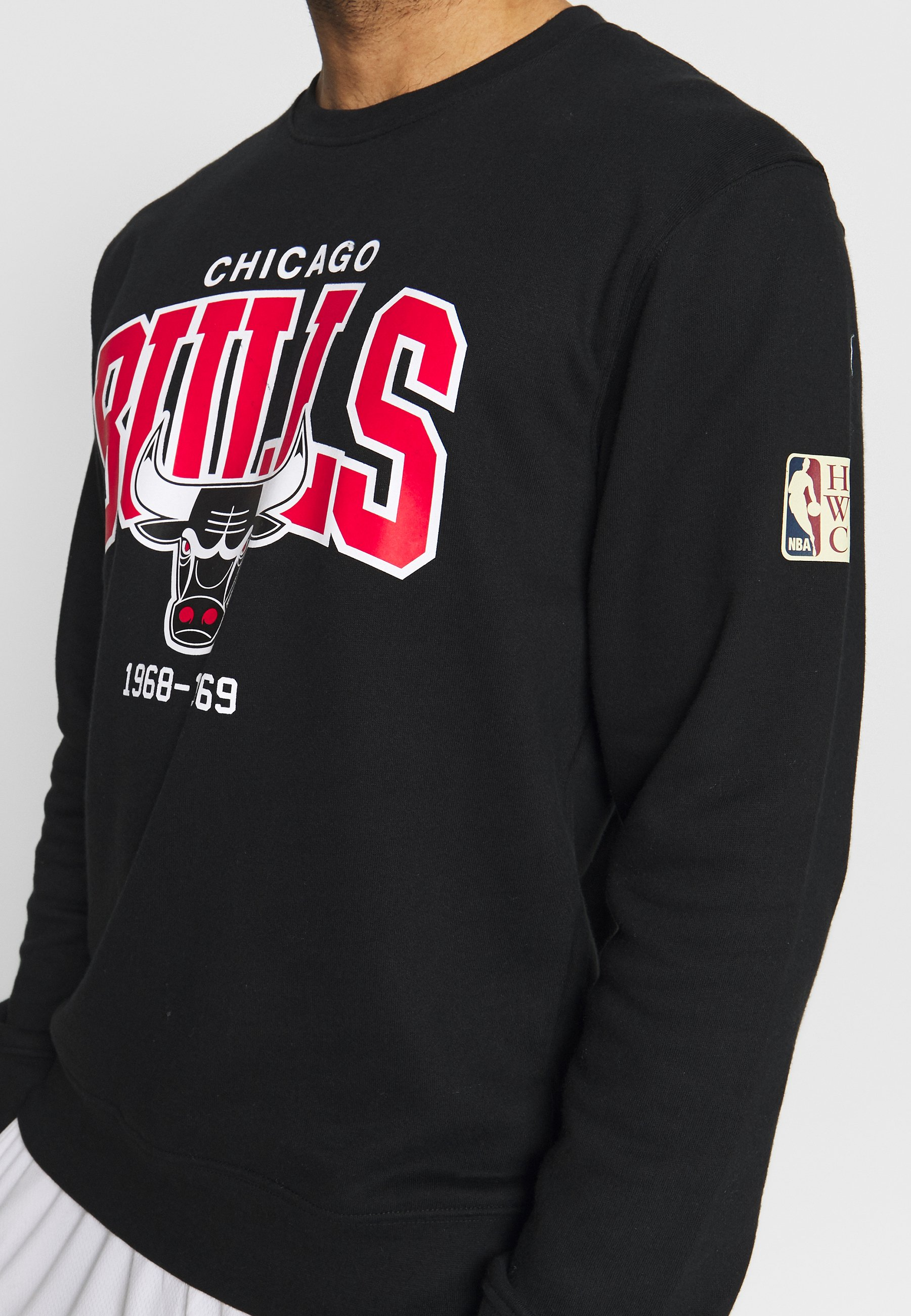 Mitchell & Ness NBA CHICAGO BULLS ARCH LOGO - Sweatshirt - black