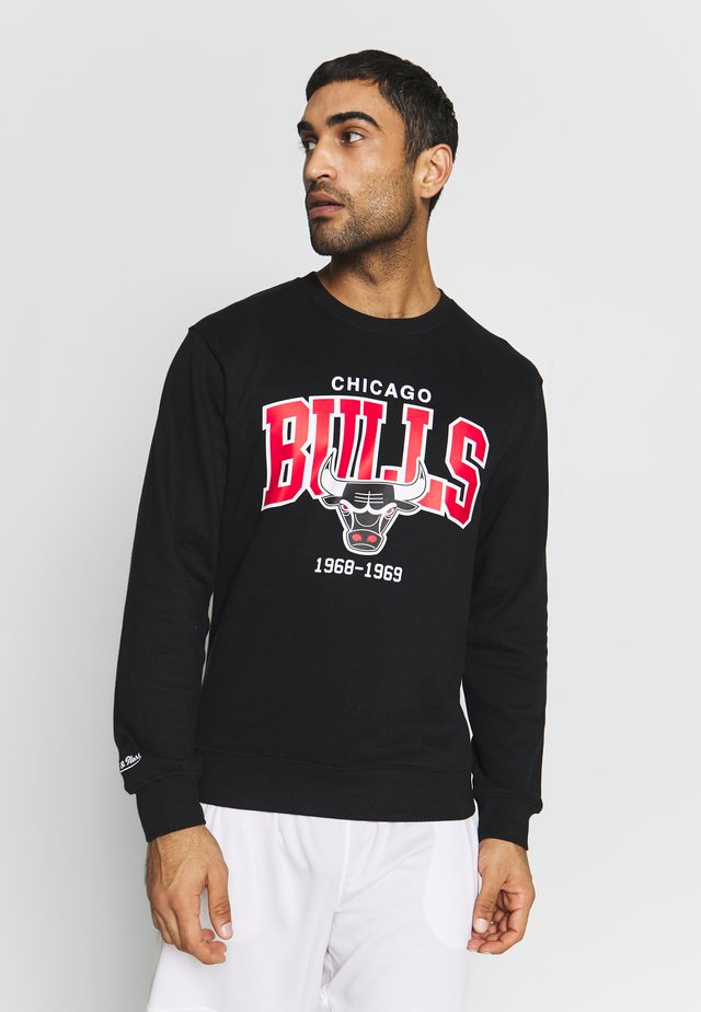 NBA CHICAGO BULLS ARCH LOGO - Sweatshirt - black
