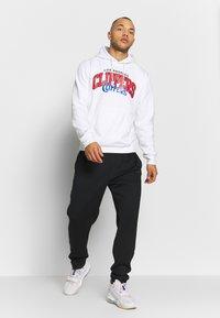 Mitchell & Ness - NBA LA CLIPPERS LOGO HOODY - Hoodie - white - 1