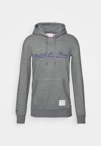 Mitchell & Ness - CLASSIC HOODIE - Mikina skapucí - grey heather - 4