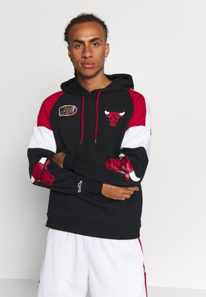NBA CHICAGO BULLS INSTANT REPLAY HOODY - Club wear - black