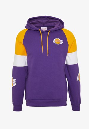 NBA LOS ANGELES LAKERS INSTANT REPLAY HOODY - Klubbkläder - purple