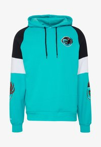 Mitchell & Ness - NBA VANCOUVER GRIZZLIES INSTANT REPLAY HOODY - Fanartikel - teal - 4