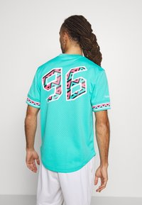 Mitchell & Ness - NBA ALL STAR NAME NUMBER - T-shirt print - teal - 2