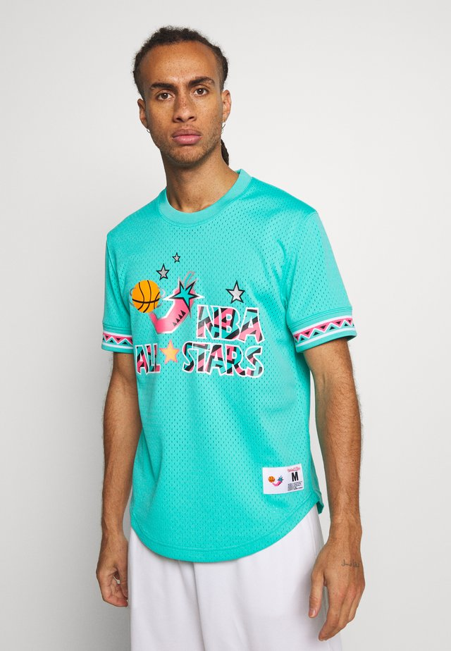 NBA ALL STAR NAME NUMBER - T-shirt med print - teal