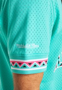 Mitchell & Ness - NBA ALL STAR NAME NUMBER - T-shirt print - teal - 4