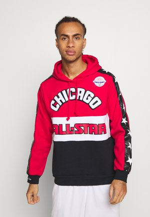 NBA ALL STAR LEADING SCORER HOODY - Mikina s kapucí - red/black