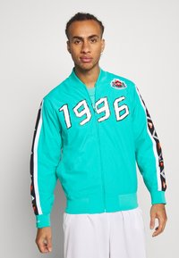 Mitchell & Ness - NBA ALL STAR FULL ZIP HOOK SHOT - Trainingsvest - teal - 0