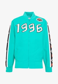Mitchell & Ness - NBA ALL STAR FULL ZIP HOOK SHOT - Trainingsvest - teal - 4
