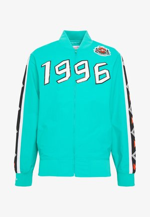 NBA ALL STAR FULL ZIP HOOK SHOT - Sportovní bunda - teal