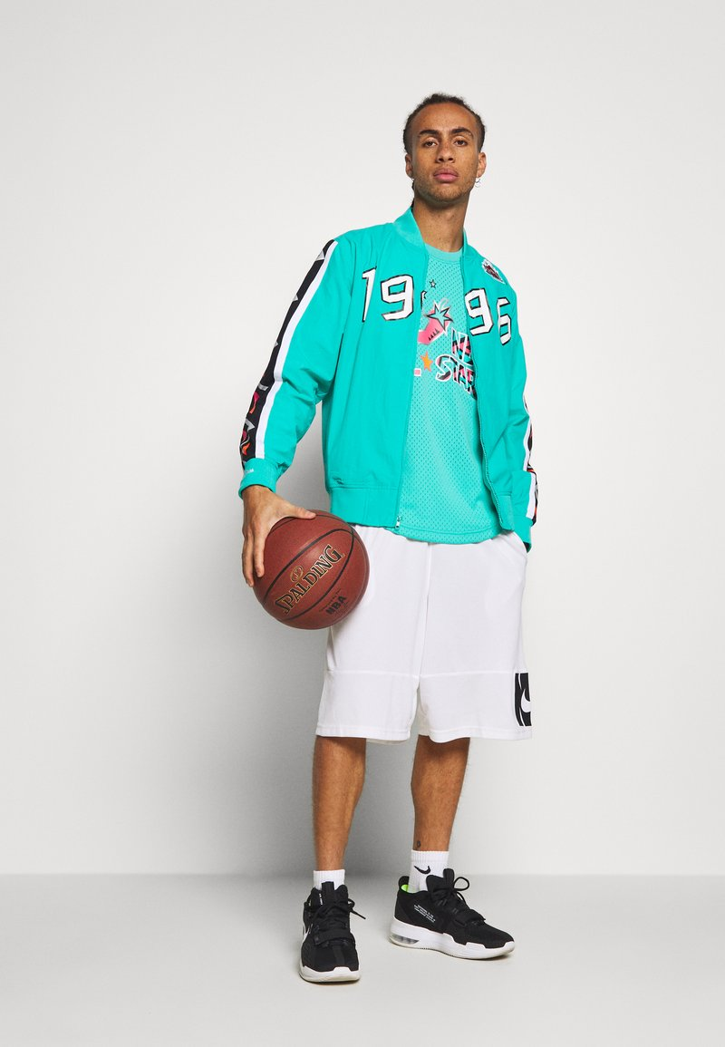 Mitchell & Ness NBA ALL STAR FULL ZIP HOOK SHOT - Treningsjakke - teal