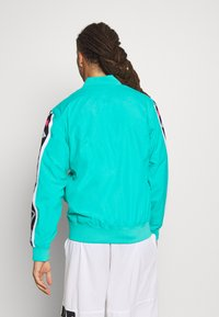 Mitchell & Ness - NBA ALL STAR FULL ZIP HOOK SHOT - Trainingsvest - teal - 2