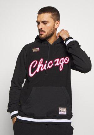 NBA CHICAGO BULLS GAMETIME - Klubové oblečení - black