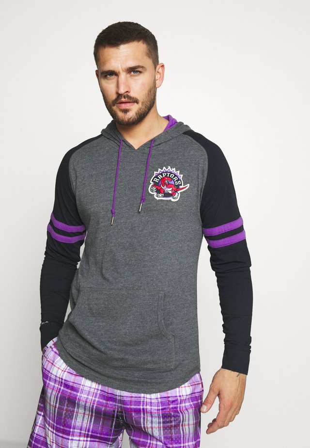 NBA TORONTO RAPTORS LIGHTWEIGHT HOODY  - Sweat à capuche - black