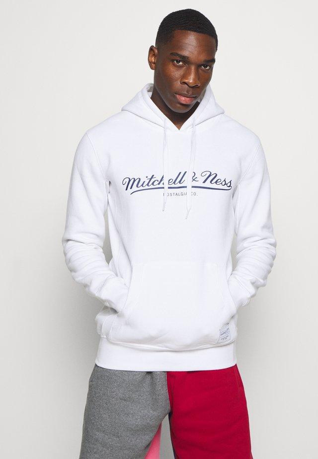 CLASSIC HOODIE - Jersey con capucha - white