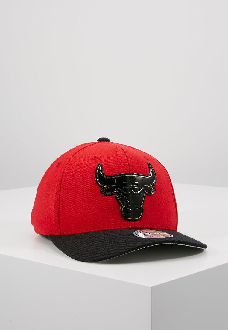 Mitchell & Ness - CHICAGO BULLS PRESTO SNAPBACK - Cap - red/black