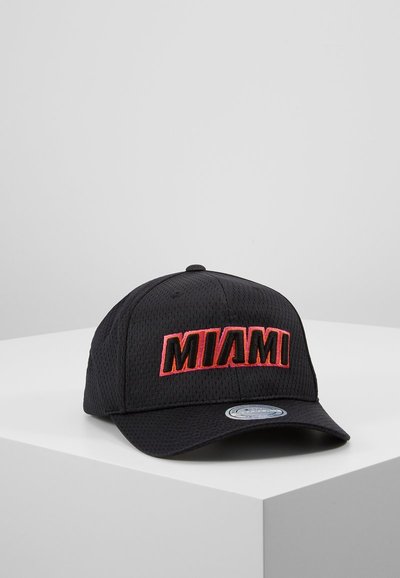 Mitchell & Ness - NBA CITY SERIES SNAPBACK MIAMI HEAT - Casquette - black