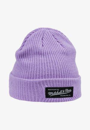 BOX LOGO CUFF - Czapka - purple