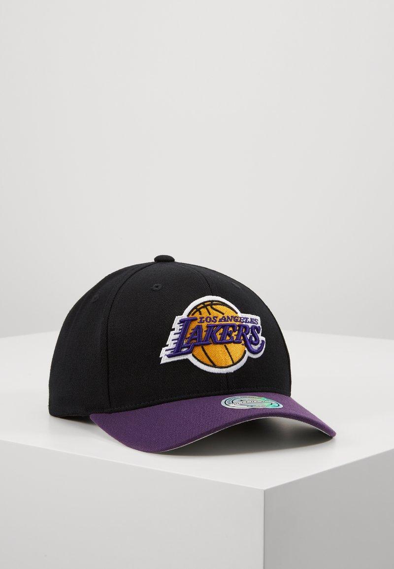 Mitchell & Ness - NBA LA LAKERS TONE - Cap - black/purple