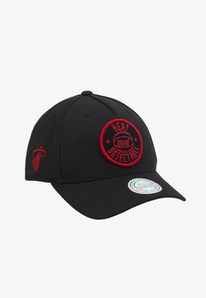NBA VISION HIGH CROWN PINCH PANEL SNAPBACK MIAMI HEAT - Cap - black