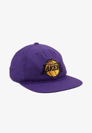 TEAM LOGO DEADSTOCK THROWBACK SNAPBACK LAKERS - Cappellino - purple