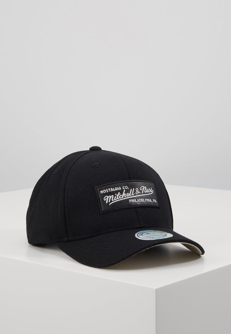 Mitchell & Ness - OUTLINE SNAPBACK - Caps - black
