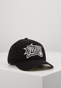 Mitchell & Ness - OUTLINE SNAPBACK PHILADELPHIA - Caps - black - 0