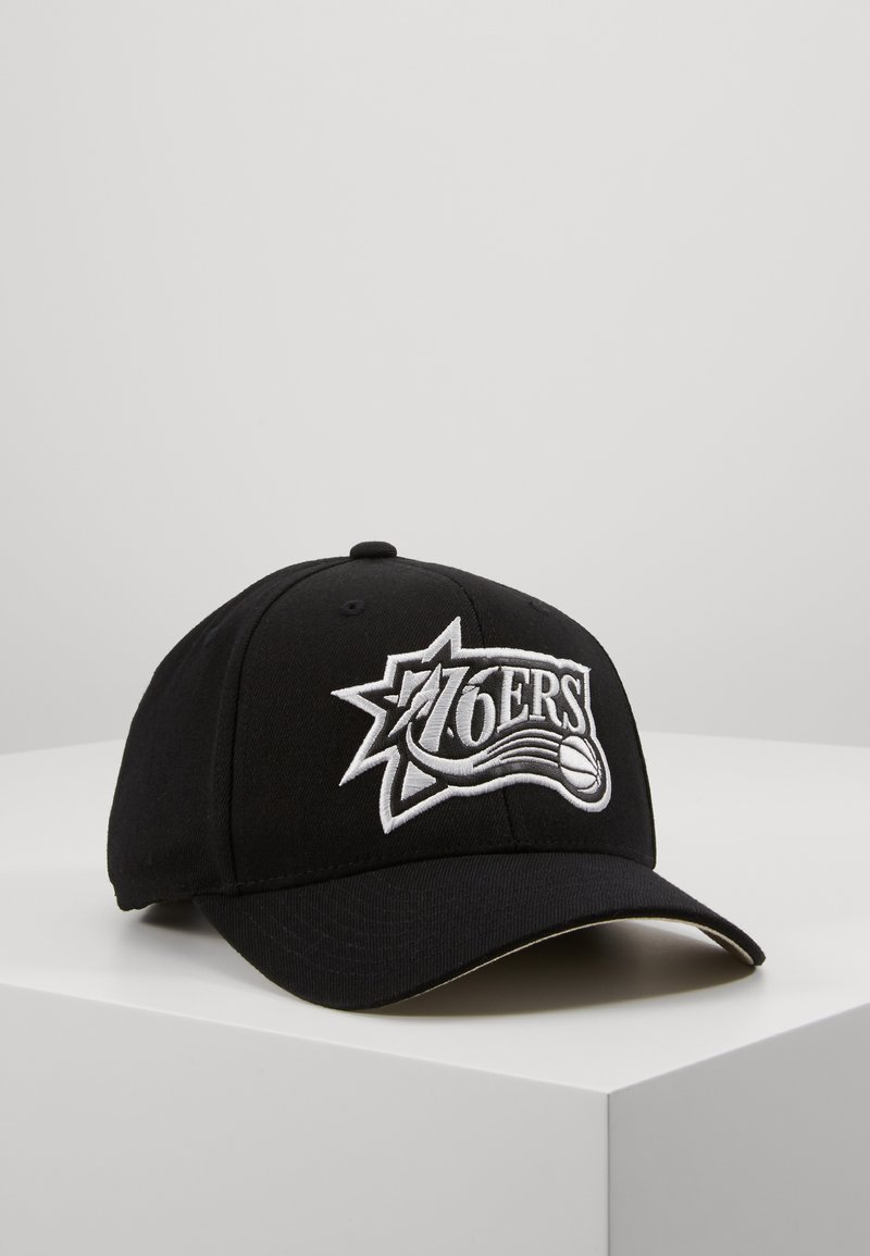 Mitchell & Ness - OUTLINE SNAPBACK PHILADELPHIA - Caps - black