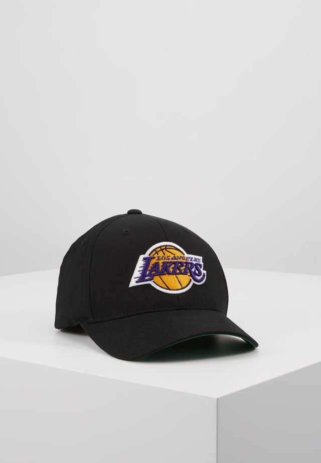 NBA LA LAKERS TEAM LOGO HIGH CROWN  PANEL SNAPBACK - Lippalakki - black