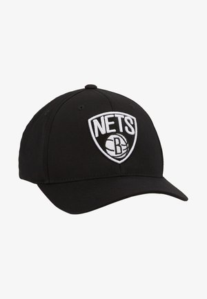 NBA BROOKLYN NETS BLACK AND WHITE LOGO PANEL - Keps - black
