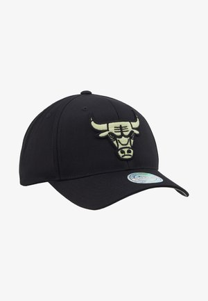 NBA CHICAGO BULLS - Czapka z daszkiem - black/mint