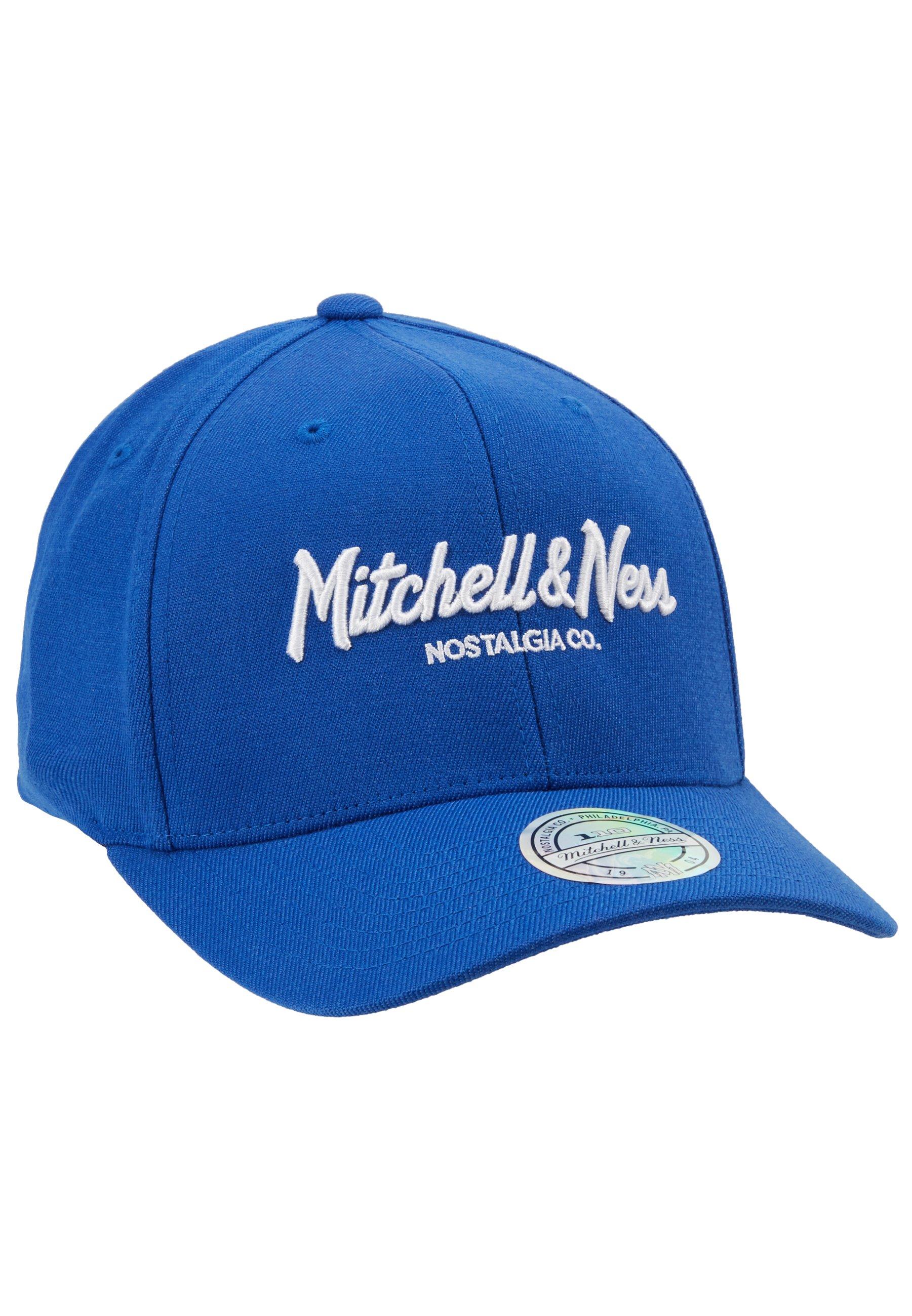 Mitchell & Ness PINSCRIPT - Czapka z daszkiem - royal