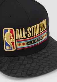 Mitchell & Ness - NBA ALL STAR LUX STARS SNAPBACK - Kšiltovka - black - 2