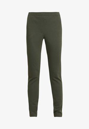 TANNY PANTS - Bukse - dark khaki