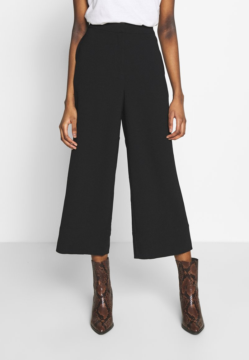 Modström - BARCELONA PANTS - Trousers - black