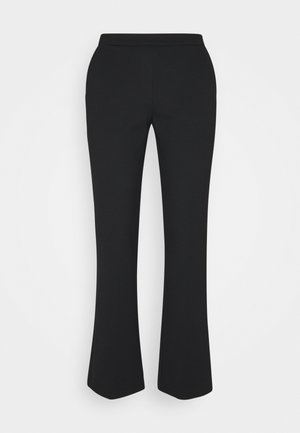 TANNY CROPPED PANTS - Trousers - black