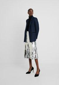 Modström - VIBE SKIRT - A-line skirt - silver - 1