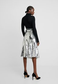 Modström - VIBE SKIRT - A-line skirt - silver - 2