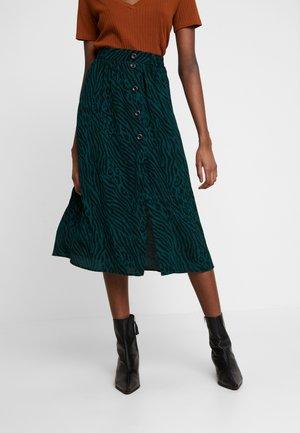 VIVALDI PRINT SKIRT - A-line skirt - dark green