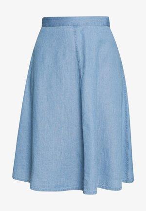 BARRET SKIRT - Falda acampanada - vintage blue