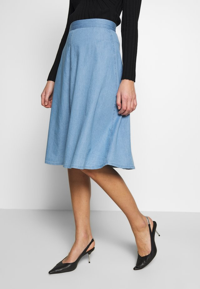BARRET SKIRT - A-linjekjol - vintage blue