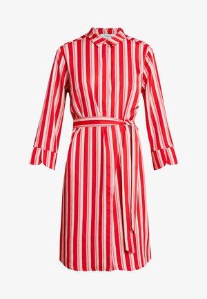 PRINT DRESS - Robe chemise - red/pink